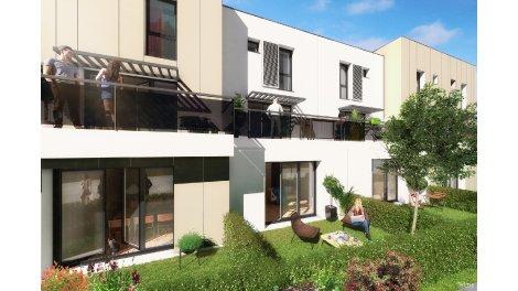 Appartement neuf Cocoon 2 éco-habitat à Metz