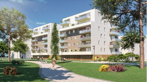 Appartement neuf L Escale éco-habitat à Mulhouse