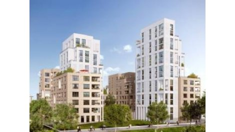 Appartement neuf High Park investissement loi Pinel à Asnieres-sur-Seine