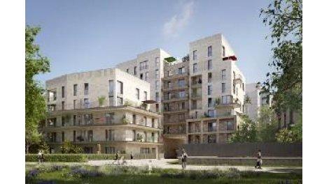 Appartement neuf Les Passages du Jardin éco-habitat à Clichy