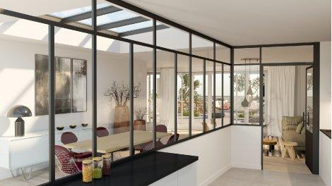Appartement neuf Les Ateliers 76 investissement loi Pinel à Paris 18ème