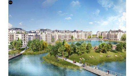 Appartement neuf Domaine du Lac Clamart Panorama investissement loi Pinel à Clamart