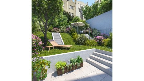 Appartement neuf Art et Mix à Paris 20ème