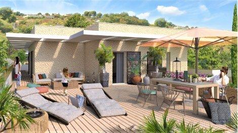 Appartement neuf Quartier Résidentiel - Csm-737 investissement loi Pinel à Cagnes-sur-Mer