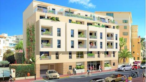 Appartement neuf Jlp-717 - Vivre en Centre Ville investissement loi Pinel à Juan-les-Pins