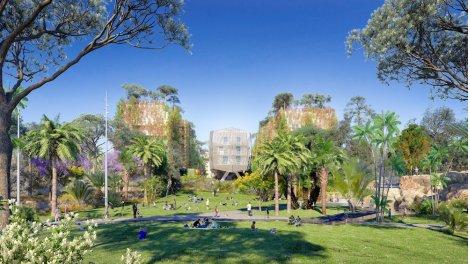 Appartement neuf Nic-682 - Quartier Résidentiel éco-habitat à Nice