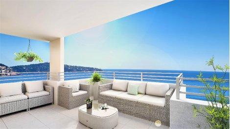 Appartement neuf Nic-707 - Une Vue Panoramique éco-habitat à Nice