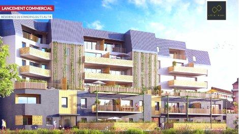 Appartement neuf Côté Parc investissement loi Pinel à Chambéry