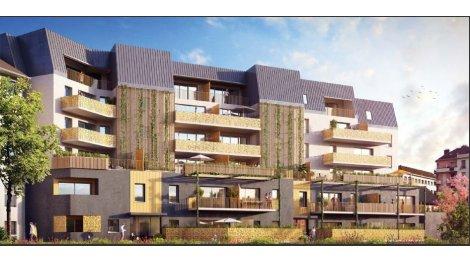 Appartement neuf Côté Parc éco-habitat à Chambéry