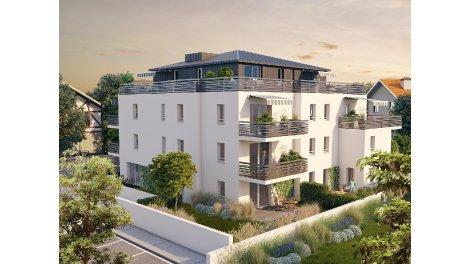 Appartements neufs Les Arènes investissement loi Pinel à Bayonne
