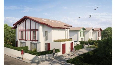 Maisons neuves Villas des Cigales investissement loi Pinel à Anglet