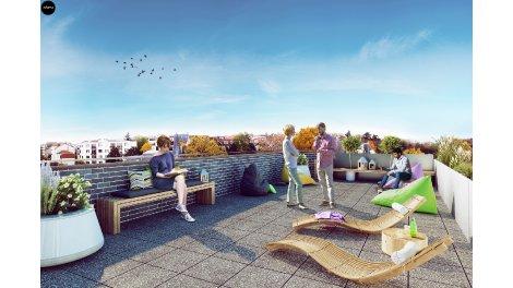 Appartement neuf Le Rooftop investissement loi Pinel à Issy-les-Moulineaux