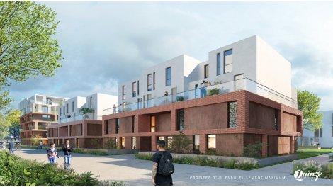 Appartement neuf Quinze investissement loi Pinel à Strasbourg