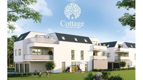 Appartement neuf Le Cottage investissement loi Pinel à Strasbourg