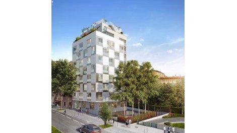 Appartement neuf Cubik investissement loi Pinel à Paris 13ème