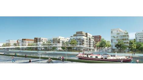 Appartement neuf Canal en Vues 7-8 à Noisy-le-Sec