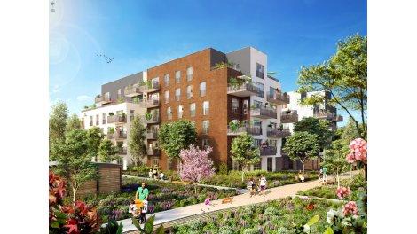 Appartement neuf Canal en Vues 10-11 à Noisy-le-Sec