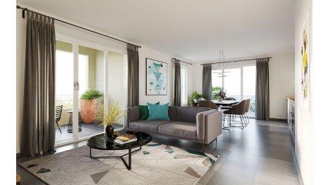Appartement neuf Coeur Village investissement loi Pinel à Irigny
