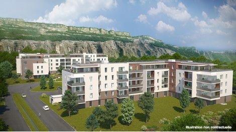 Appartement neuf Le Domaine d'Aspre investissement loi Pinel à Meylan