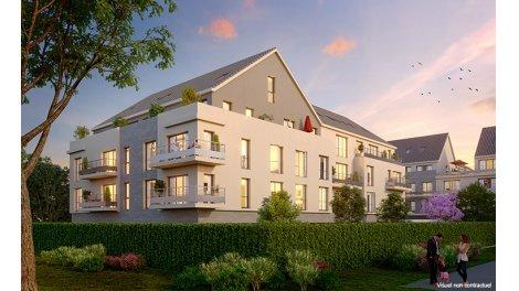 Appartement neuf Le Domaine de l'Aunette éco-habitat à Ballancourt sur Essonne