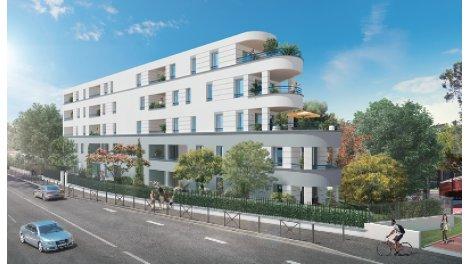 Appartement neuf Residence Quai 77 éco-habitat à Toulouse