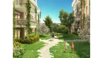 Appartements neufs C-91 Villeurbanne investissement loi Pinel à Villeurbanne