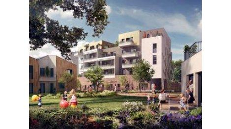 Appartement neuf Lh-19 Saint-Herblain investissement loi Pinel à Saint-Herblain