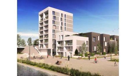 Appartements neufs A-168 Strasbourg éco-habitat à Strasbourg