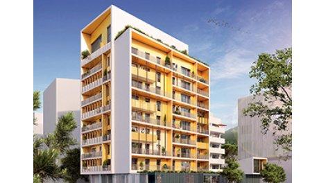 Appartement neuf P-81 Grenoble investissement loi Pinel à Grenoble