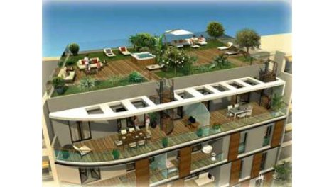 Appartement neuf L38f Antibes investissement loi Pinel à Antibes