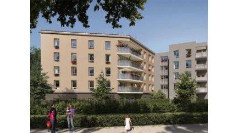 Appartement neuf 165ajj Decines-Charpieu investissement loi Pinel à Décines-Charpieu