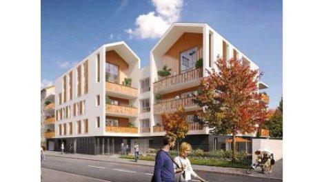 Appartement neuf Lar-5 Decines-Charpieu investissement loi Pinel à Décines-Charpieu