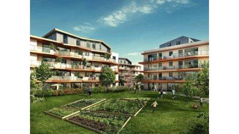 Appartement neuf L5j-2 Decines-Charpieu investissement loi Pinel à Décines-Charpieu
