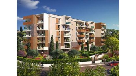 Appartement neuf Tb-9 Antibes investissement loi Pinel à Antibes