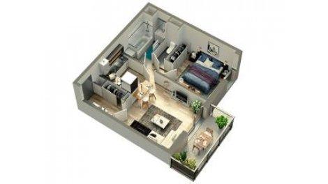 logement neuf à Houplines
