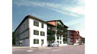 Appartements neufs Ae-6 Saint-Pee-sur-Nivelle éco-habitat à Saint-Pee-sur-Nivelle