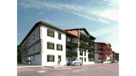 Appartement neuf Ae-6 Saint-Pee-sur-Nivelle éco-habitat à Saint-Pee-sur-Nivelle