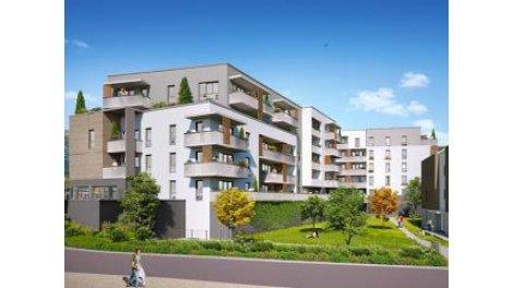 Appartement neuf Ev-14 Saint-Egreve éco-habitat à Saint-Egrève