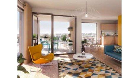 Appartement neuf C-167 Lille éco-habitat à Lille