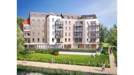 Appartements neufs R-57 Saint-Andre-Lez-Lille investissement loi Pinel à Saint-André-Lez-Lille