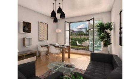 Appartement neuf Cdlm-2 Montevrain investissement loi Pinel à Montévrain