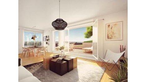 Appartement neuf B-74 Bordeaux investissement loi Pinel à Bordeaux