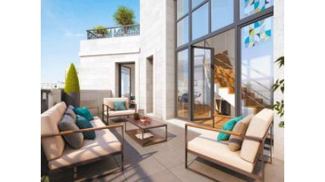 Appartement neuf S-156 Saint-Ouen investissement loi Pinel à Saint-Ouen