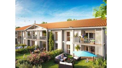 Appartement neuf Lcdc-40 Saint-Jean-d'Illac éco-habitat à Saint-Jean-d'Illac