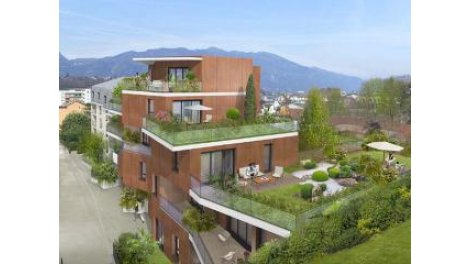 Appartement neuf Pkb Aix-les-Bains investissement loi Pinel à Aix-les-Bains