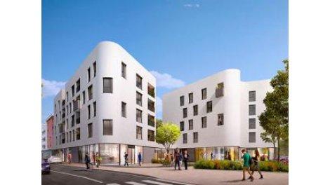 Appartement neuf W-8 Decines-Charpieu investissement loi Pinel à Décines-Charpieu
