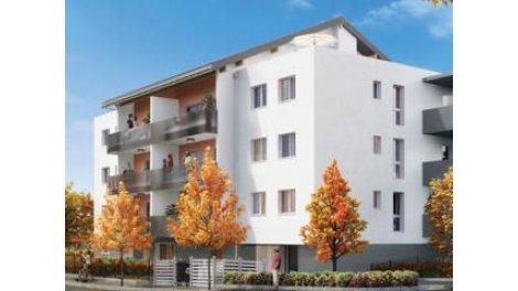 Appartement neuf S-83 Annemasse investissement loi Pinel à Annemasse