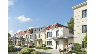Maisons neuves Interlude éco-habitat à Châtenay-Malabry