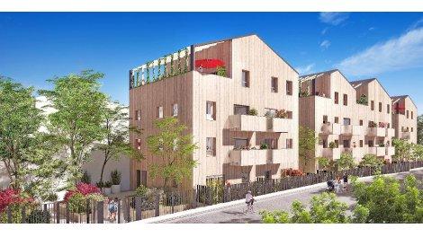 Appartement neuf Les Allées Nature investissement loi Pinel à Aubervilliers