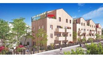 Appartements neufs Les Allées Nature investissement loi Pinel à Aubervilliers